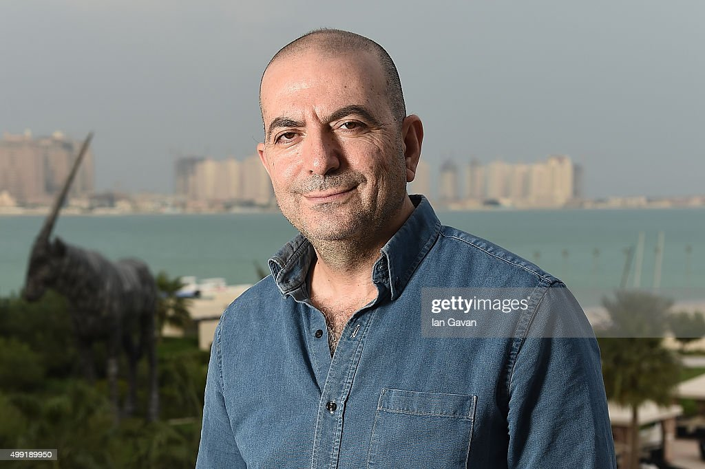 <a gi-track='captionPersonalityLinkClicked' href=/galleries/search?phrase=Hany+Abu-Assad&family=editorial&specificpeople=656572 ng-click='$event.stopPropagation()'>Hany Abu-Assad</a> poses for a portrait session during on the Day 1 of the Ajyal Youth Film Festival on November 29, 2015 in Doha, Qatar.