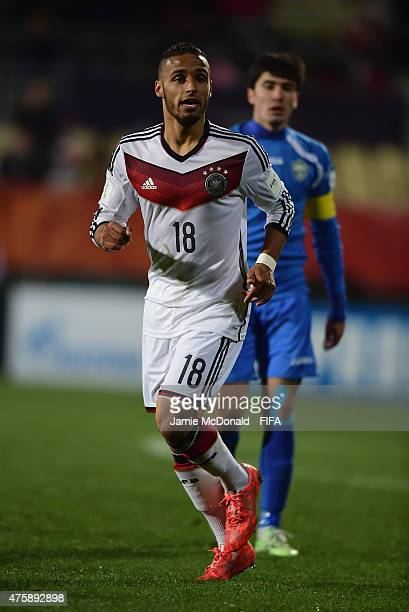Hany Mukhtar of Germany in action during the FIFA U20 World Cup New Zealand 2015 Group F match between Germany and Uzbekistan at the Christchurch...