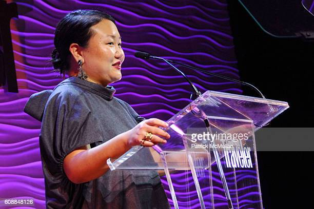 Hanya Yanagihara attends CONDE NAST TRAVELER Readers' Choice Awards 20TH Anniversary Party at CooperHewitt National Design Museum on October 10 2007...