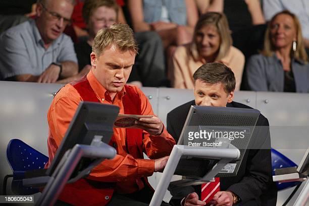 Hape Kerkeling Günther Jauch Puplikum RTLShow 'Wer wird Millionär'ProminentenSpecial Gewinner PNr488/2002 JH