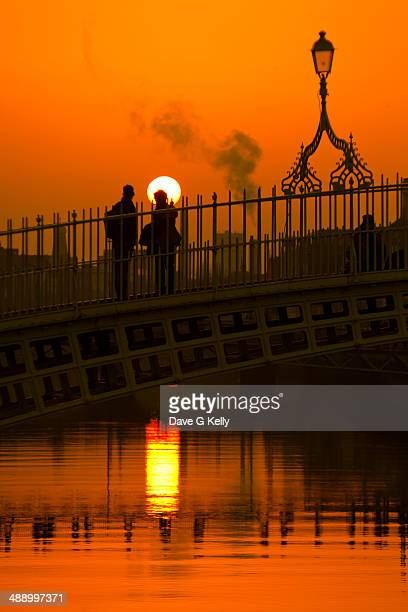 Ha'Penny Bridge sunset