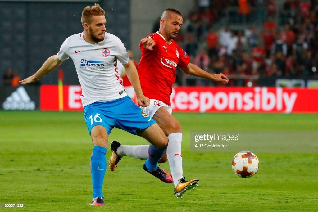 Hapoel Be'er Sheva v Steaua Bucuresti - UEFA Europa League