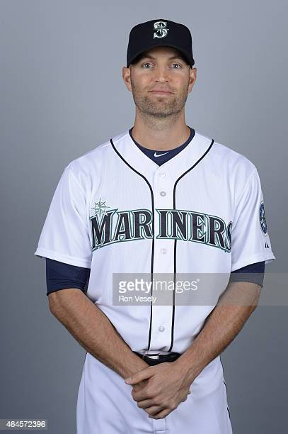 A Happ of the Seattle Mariners poses during Photo Day on Thursday February 26 2015 at the Peoria Sports Complex in Peoria Arizona
