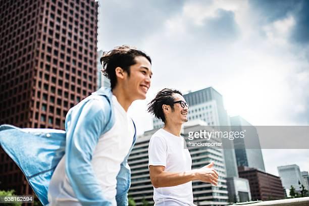 幸福ご友人とご一緒に、東京で