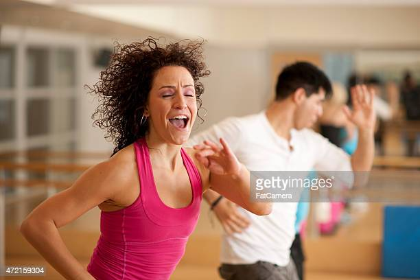 Happiness in Dance Class