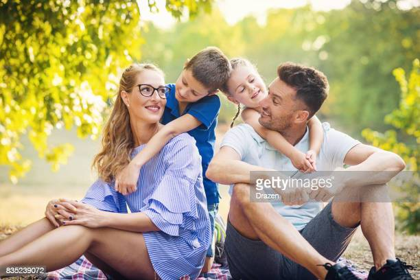 Happiness in family