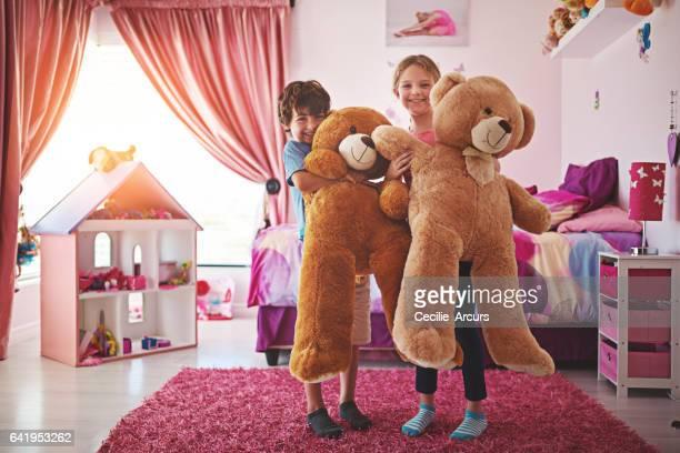 Happiness is a BIG bear hug