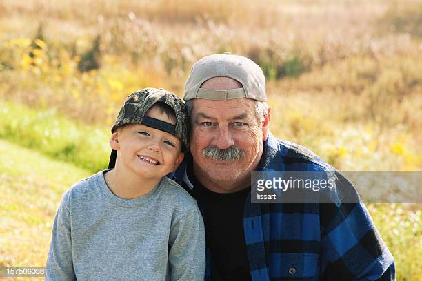 Happiness is a Day with Grandpa and Grandson