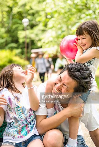 幸福異人種の日本の家族