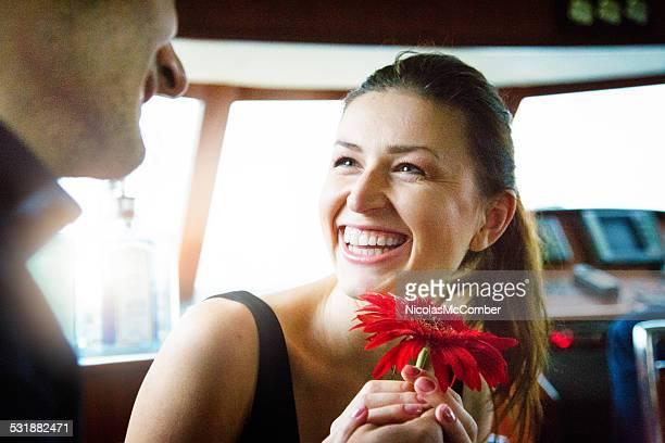 Glück an Bord