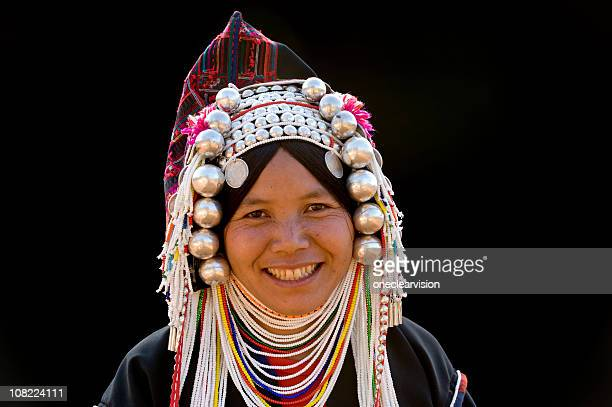 Happy Akha Woman