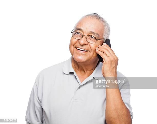 Happy and healthy senior man