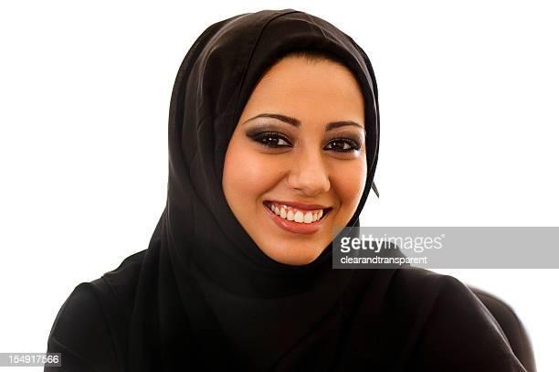 Happy Arabic girl