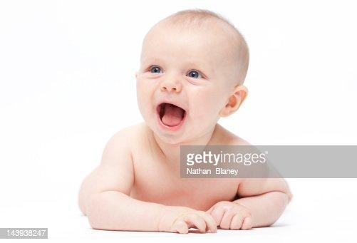 Happy baby : Stock Photo