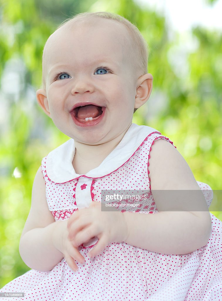 Happy baby : Stock Photo