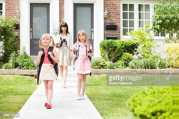 happy zurück zu Schule sisters