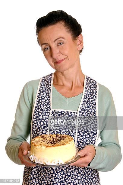 Glücklich baker