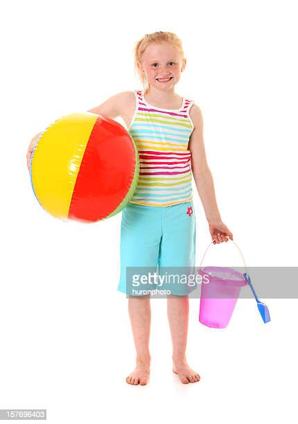 happy beach girl
