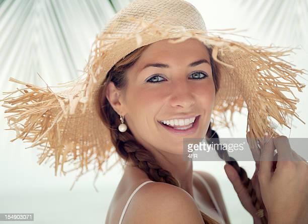 Heureux Portrait de plage (XXXL