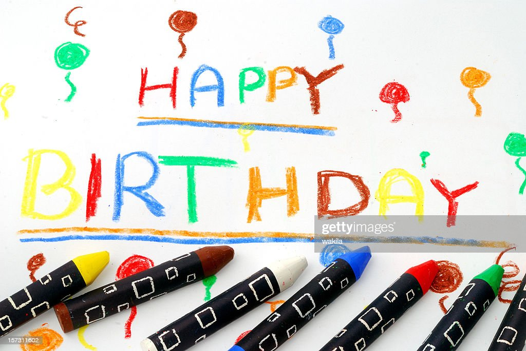 Happy Birthday : Stock Photo