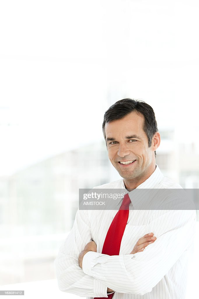 Happy Manager : Stock Photo