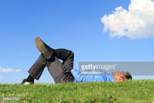 happy businessman : Stock Photo