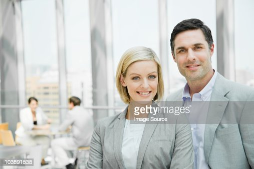 Happy businesspeople : Stock Photo