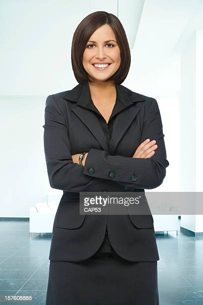 Happy Businesswoman at Her Office