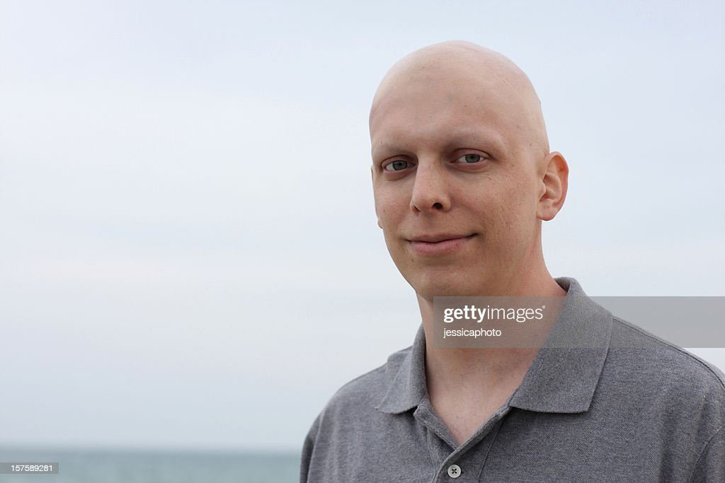 Happy Chemo Cancer Patient