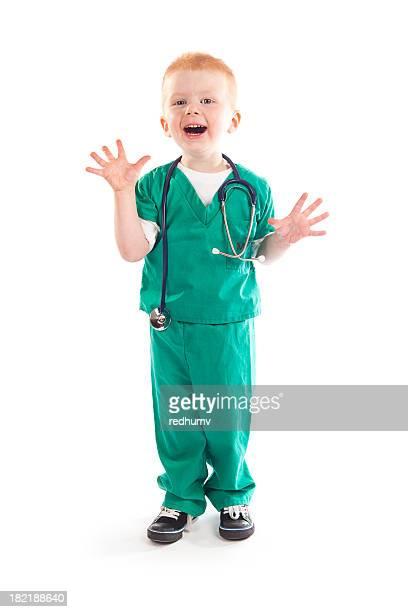 Heureux enfant Médecin