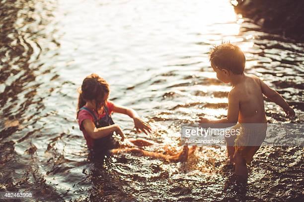 幸せな子供時代