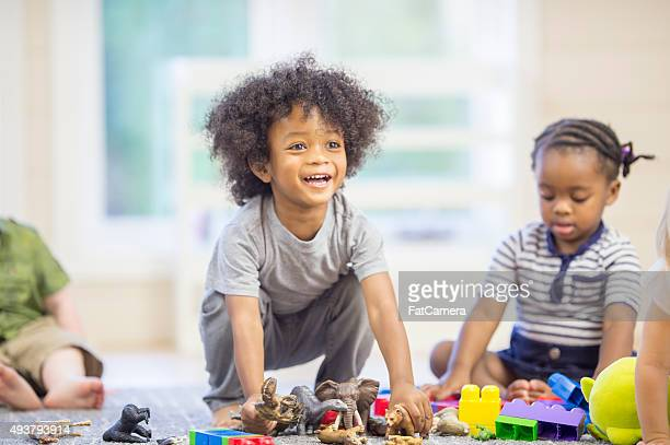 Happy Children Playing Together
