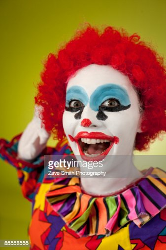 Happy Clown Stock Photo | Getty Images Happy Clown Pictures