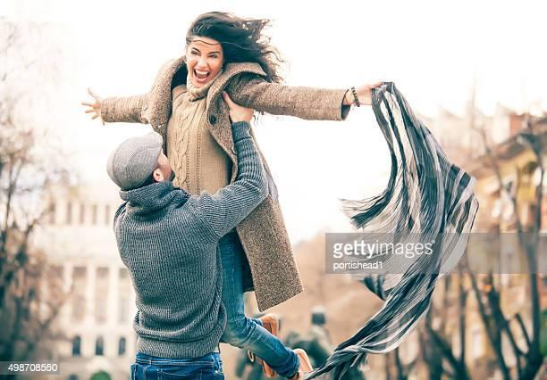 Heureux couple hapiness