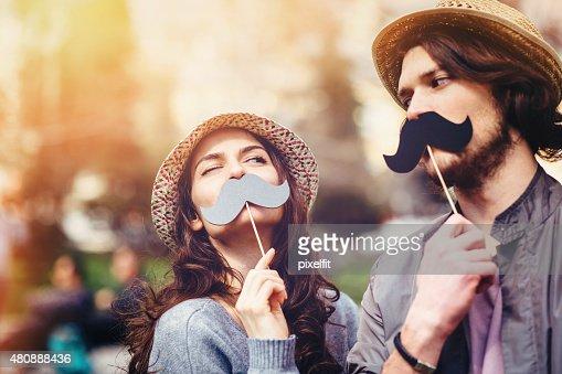 幸せなカップルのお楽しみ