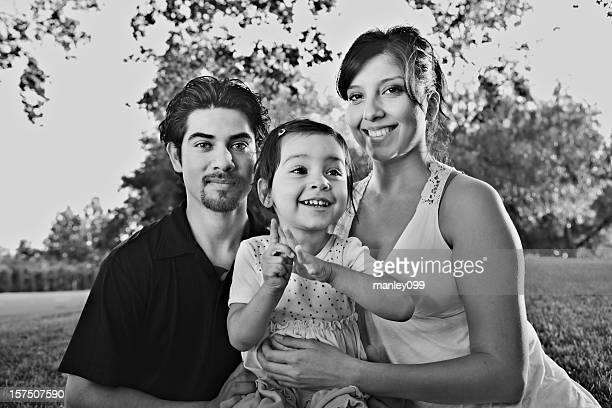 happy daughter portrait