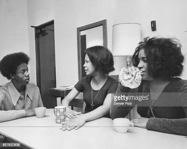 NOV 11 1970 NOV 12 1971 NOV 17 1971 'Happy Ending' Reflects One Side Of Inner City Life From left are Larry Dodds Brenda Boyd and Andrea Vann Story...