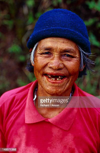 A happy face of the Ifugao. The Ifugao people traditionally lived in dangerous times. They were fierce warriors who successfully resisted the Spaniards and had many fierce battles with their neighbours.