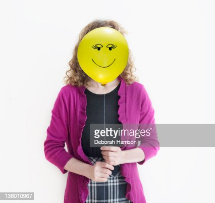Happy faced girl : Stock Photo