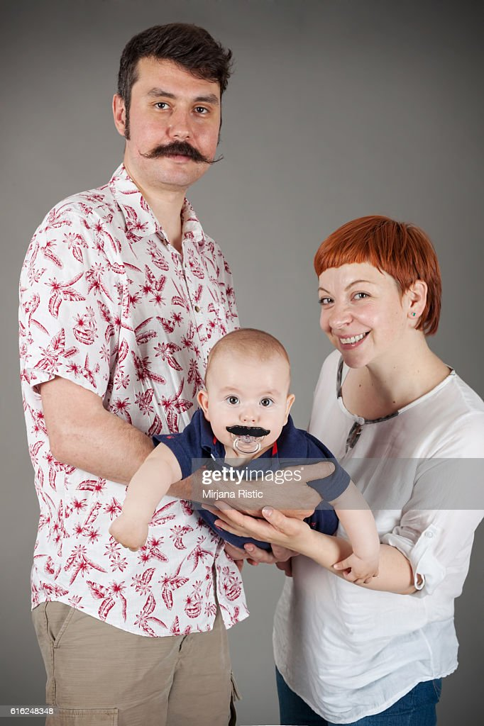 Happy Familly : Stock Photo