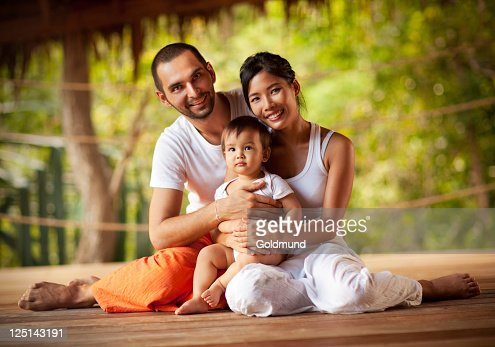 Happy Family : Stockfoto