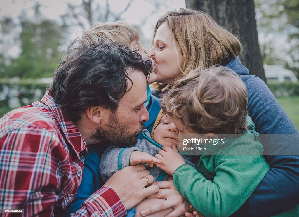 Happy family : Stock Photo