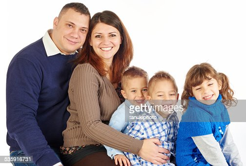Happy familia : Foto de stock