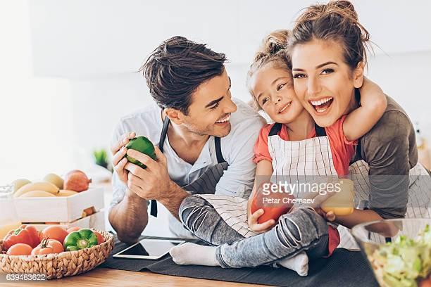 Heureuse famille