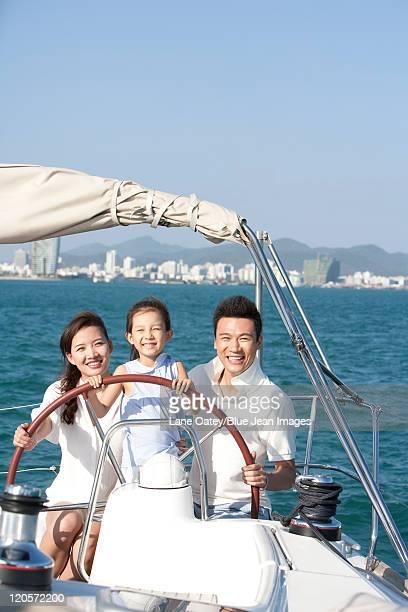 Happy Family Sailing