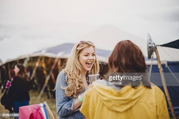 Happy Festival-Goer