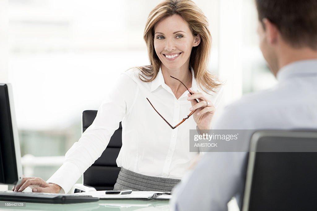 Happy Financial Advisor