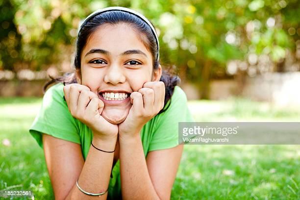 Happy Girl Outdoor