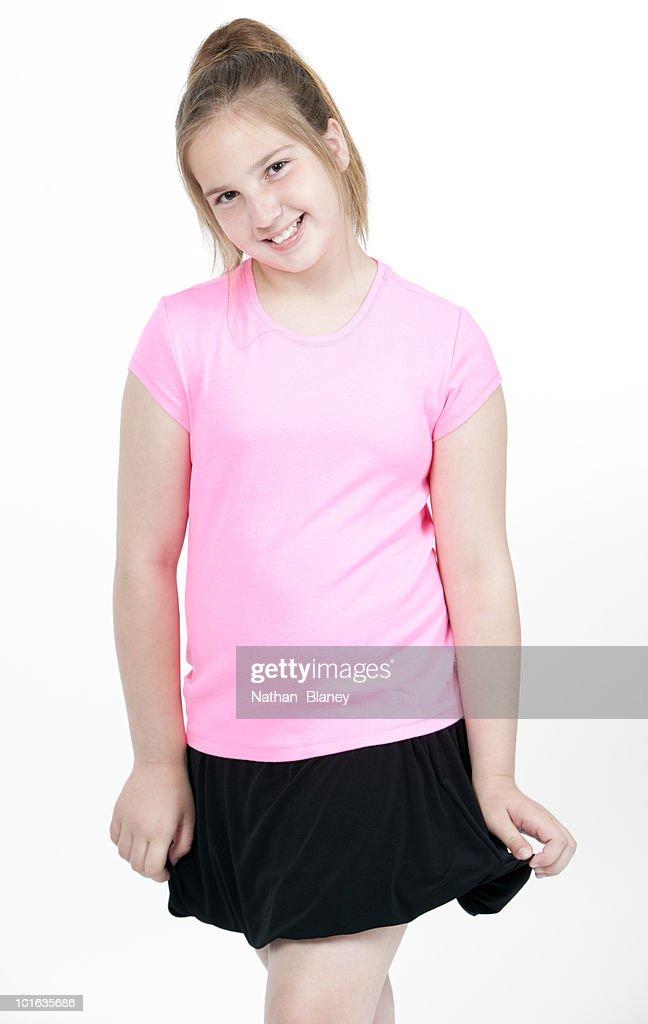 Happy girl. : Stock Photo
