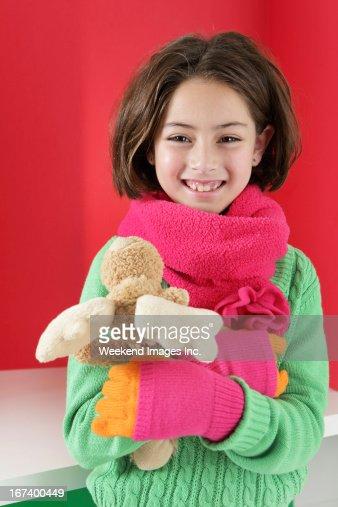 Glückliche Mädchen : Stock-Foto
